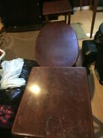 Free end tables and coffee table to good home..