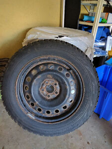 4 Bridgestone Blizzak WS 70 Tires with Rims