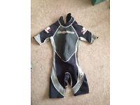 Body glove apex titanium child's wetsuit