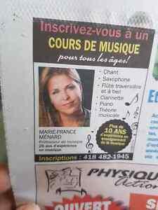 Professeur privé de musique Lac-Saint-Jean Saguenay-Lac-Saint-Jean image 1