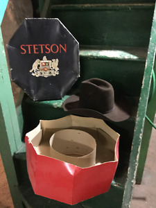 Stetson Hat with box