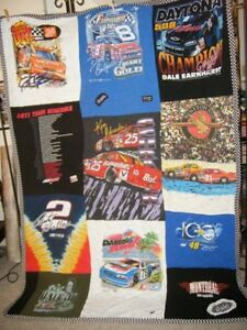 Hand Made Quilt for Sale - NASCAR.