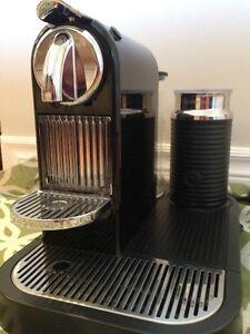 Machine à café CITIZ & MILK de Nespresso