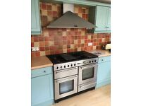 Aga Range master Toledo 110 Range gas cooker & extractor Hood price negociable