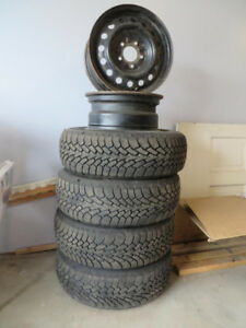 GOODYEAR Winter Tires 215/70 R15 with Rims