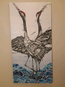 Crane Painting