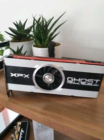 XFX AMD Radeon HD 7950 3gb Graphics Card Black Edition spare or repair