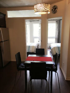 Beautiful new condo in downtown of Montreal, Saint Catherine ST