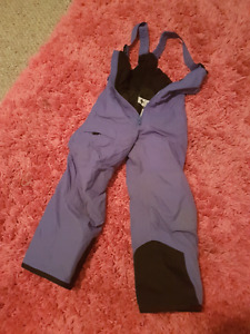 6X purple and black Columbia snow pants