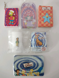 6 Vintage The Simpsons Unused! Collectable Items. Can be viewed!!