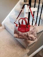 Singnature coach shoulder bag $135 OBO. New still with tag. Watc
