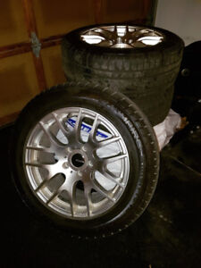 """Snow Tires with rims for sale - 17"""""""