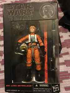 Star Wars The black series 6 inch #1Luke Skywalker