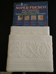 CEILING BORDER DECORATION ACCENT FAUX MOULDING GREEK CLASSIC 5YD
