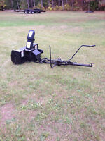 Dual stage snowblower came off of sears tractor