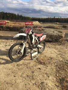 Yamaha YZ250F clean bike
