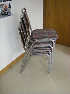 4 stacking kitchen chairs