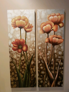 Bombay canvas prints - in perfect condition.
