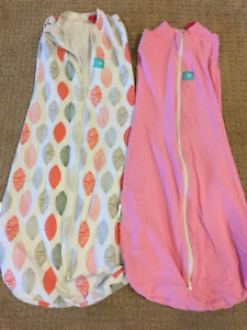 Pink Ergo Cocoon Sleep Sack