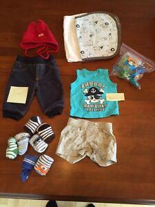 Lot vêtements et accessoires 0-18 mois