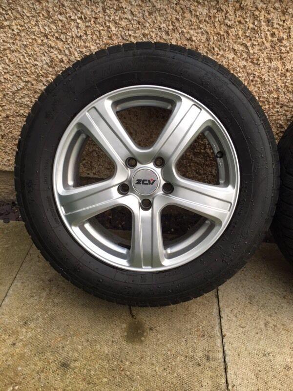 Full set of winter Wheels & Tyres