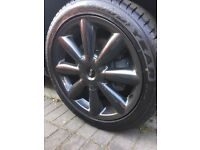 "MINI COUNTRYMAN ""18"" ALLOY WHEELS AND TYRES"