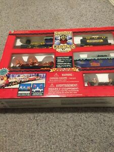 North Pole Christmas express train new in box