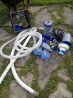 Pool pump and filtration system