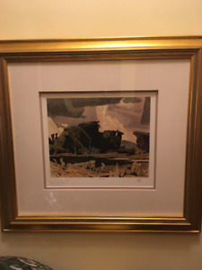 LOW EDITION NUMBER - A J Casson Signed, Ltd. Ed. Print