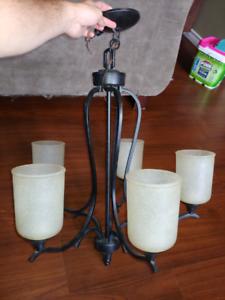 Various light fixtures