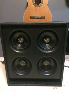 Cab 4x8 Pyle Pro Speakers
