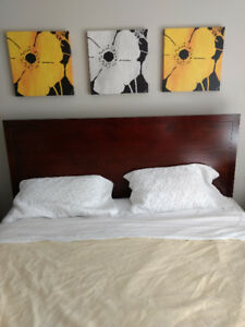 Head board and bed frame for King size bed