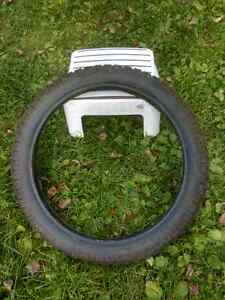 motorcycle                      tire.  20.00