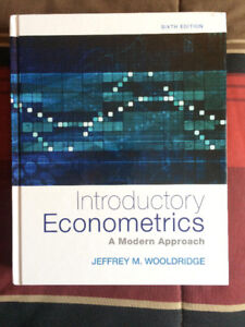 Introductory Econometrics A Modern Approach sixth edtion