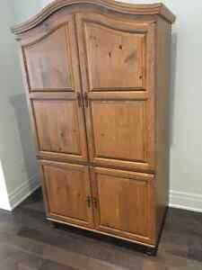 ****Beautiful Sold Maple Cabinet****