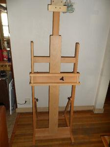 Professional Artist's Studio H-Frame Easel