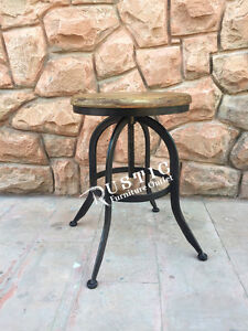 Adjustable Counter top stool or end table - tabourets comptoir