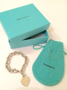 Authentic RETURN TO TIFFANY Heart Bracelet - RETAIL: $420+tax