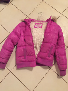 justice puffer coat size 12