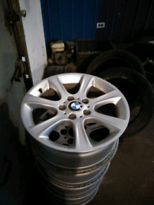 "BMW Genuine 17"" Rims Wheels Set 5x120"