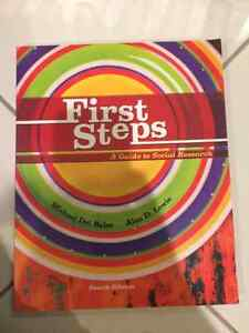 First Steps - A Guide to Social Research (4th Edition)