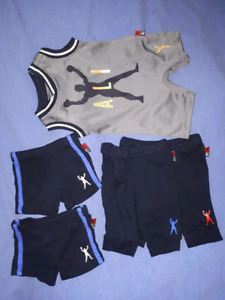 Muhammad Ali Size 0/3mts Baby Boy Boxing Clothes Lot,NEW
