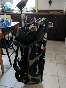 Callaway Golf bag and mixed clubs