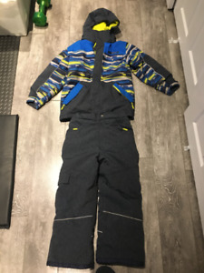 Winter clothing, size 8-10, snow suit, jacket, 2 vests