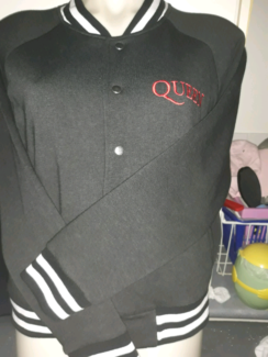 """QUEEN  """"WE WILL ROCK YOU""""  JACKET (NEW) SIZE S Windsor Hawkesbury Area Preview"""