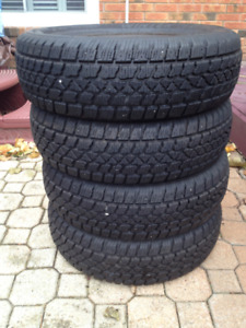 Arctic Claw Winter Tires (195/70 R14) Set of 4 (No rims)