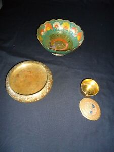 indian brass bowls set