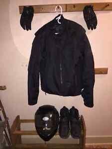 Selling Motorcycle Riding Equipment
