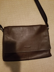 7ffe1e63f189 Men s Coach Brown Messenger Bag