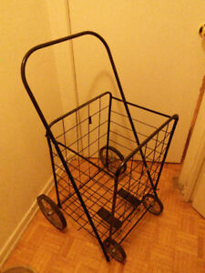 Big,  sturdy and foldable shopping  cart for sale $15